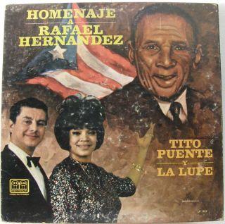Tito Puente Y La Lupe Rafael Hernandez Tico Puerto Rico