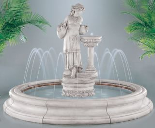 Angella in Toscana Pool Fountain New CLOSEOUT Floor Model Save $1000s