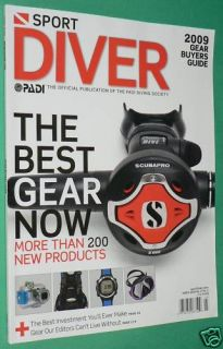 Sport Diver Magazine March 2009 Gear Buyers Guide Suit