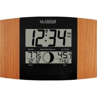 La Crosse Technology Atomic Clock Outdoor Weather New