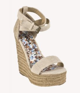 Lucern Soda Platform Espadrille Jute Wrap Criss Cross Strap Light