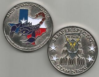 Force 624th Operations Center Lackland AFB Texas Challenge Coin