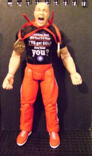 Kurt Angle WWE WWF Jakks Pacific Action Figure Rare in Excellent