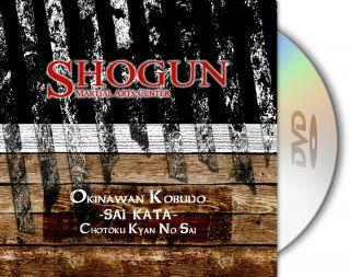 Okinawan Kobudo Sai Kata Chotoku Kyan No Sai Training DVD