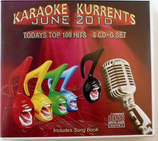 Karaoke Kurrents CD G w Black Eyed Peas Lady Antebellum Kesha