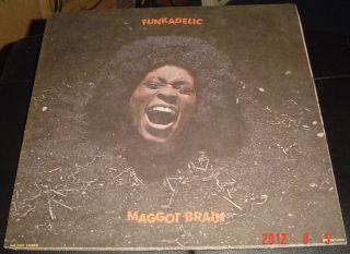Funkadelic Maggot Brain Ultra RARE white label promo 1st press AWESOME