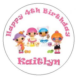 Lalaloopsy Round Stickers Labels Birthday Party Favors