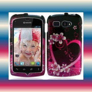 Eplov Boost Mobile Kyocera Hydro C5170 Glossy Phone Cover Hard Case