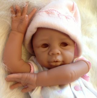 Reborn Baby Doll Kit Biracial Kyra By Eva Helland. New Soft Biracial