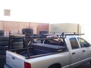 Truck Bed Pipe Rack