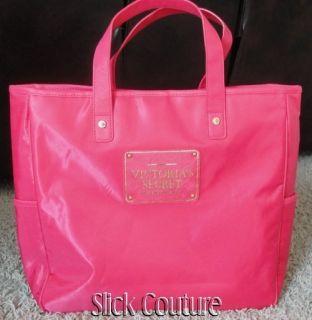 Victorias Secret Tote Logo Bag Pink Lmtd Ed RARE New