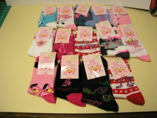 Pink Panther Socks