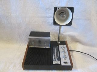 Vintage Alarm Clock Radio Lamp Symphonette Slumber Center