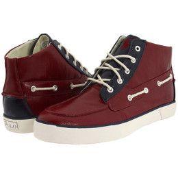 Mens Ralph Lauren Polo Lander Chukka High Top Boat Shoes 13