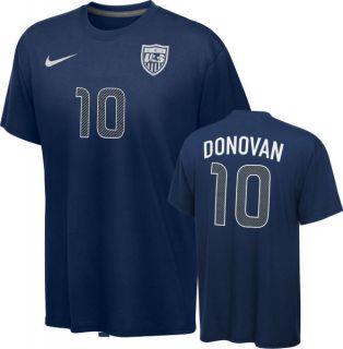 Landon Donovan T Shirt Team USA 10 Nike Adult
