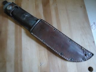 Pal Blade Combat Fighting Knife WW2 USGI RH 36 W Sheath Lots of