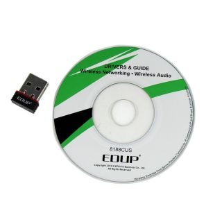 Mini USB WiFi Wireless LAN Network Card Nano Adapter Laptop 11n