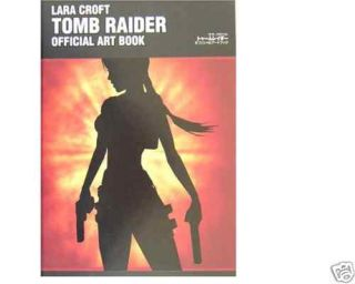 Lara Croft Tomb Raider Official Art Book Japanese