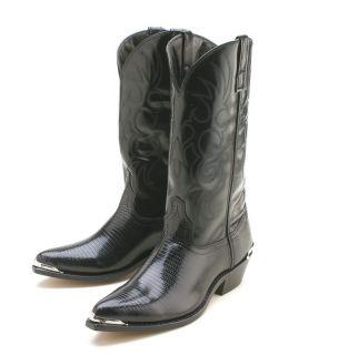 Laredo Lizard Print Western Cowboy Boots Atlanta 7 13
