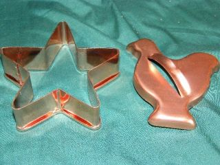 Large Copper Cookie Cutters – Star Bird