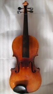 Student Violin German Made by Benedikt Lang Carrying Case