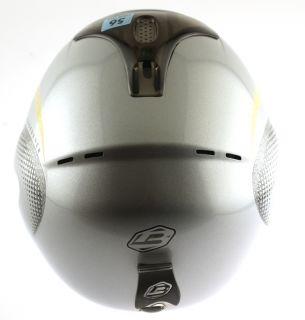 FREERIDE SPECIAL Snow Ski Snowboard Helmet Silver 60cm X Large NEW