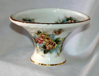 Saint James Fine Bone China Vase Stoke on Trent Langton England