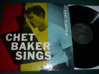 Chet Baker Sings Original 56 Pacific Jazz Very Clean