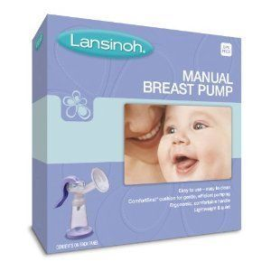 Lansinoh Manual Breast Pump Feed Store Food Baby Infant New Born