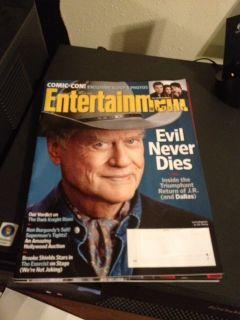 Entertainment Weekly Dallas, Larry Hagman, Vampire Diaries, Comic Con