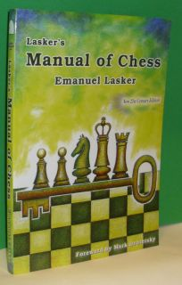 Laskers Manual of Chess Book