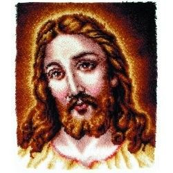 Jesus Christian Religious Latch Hook Kit Below Retail