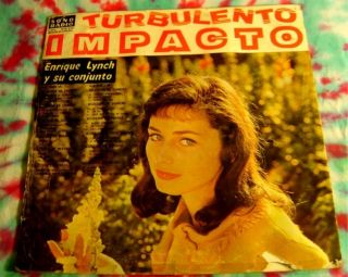 Enrique Lynch Turbulento Impacto LP Peru Latin Jazz