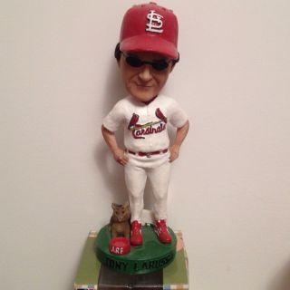 St Louis Cardinals Tony LaRussa SGA Bobblehead ARF Limited EDT