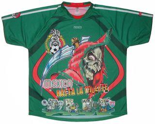 Futbol Soccer Jersey Seleccion Mexicana Hasta La Muerte New