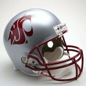Washington State Cougars Full Size Football Helmet