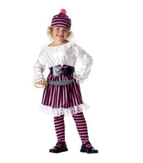 New Precious Pirate Pink Dress Costume 2T 4T Cute