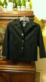 Lauren Ralph Lauren Ladies Women Jacket Black s Small Great Deal