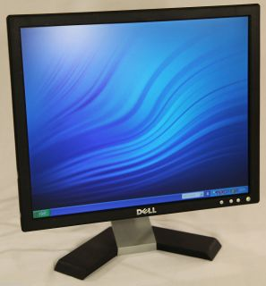 Dell 17 inch LCD Flat Panel Monitor E177FPC 1280x1024 Black VGA