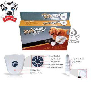Anti Bark Stop Dog Collars Leashes Barking Control Pet Collar