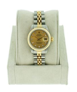 Rolex Ladies Datejust Two Tone 69173