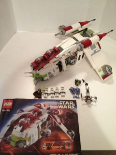 Lego Star Wars Episode II Republic Gunship 7163 w Mini Figures