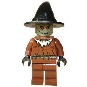 Lego Batman Arkham Asylum 7785 Set Scarecrow Mini RARE 673419083393