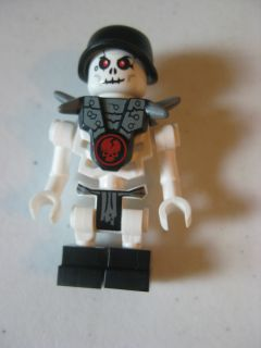Lego Chopov with Armor Helmet Ninjago Skeleton Minifigure
