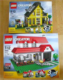 New Lego 4956 4996 City Creator Beach House Home