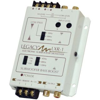 Legacy LXR1 Electronic Subwoofer Crossover Network