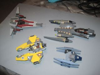 Lego Star Wars Space SHIP Fighter Lot