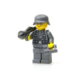 Cusom Lego German Soldier WWII Minifig Army Builder