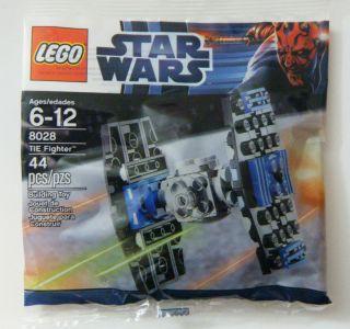 Lego 8028 Star Wars Tie Fighter Promo Bag RARE