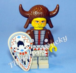 Lego minifig INDIAN Medicine Man Wild West Western Lego MiniFigure